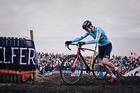 Toon Aerts (BEL/Telenet Fidea Lions)<br /> <br /> Men's Elite race<br /> <br /> UCI 2019 Cyclocross World Championships<br /> Bogense / Denmark<br /> <br /> ©kramon