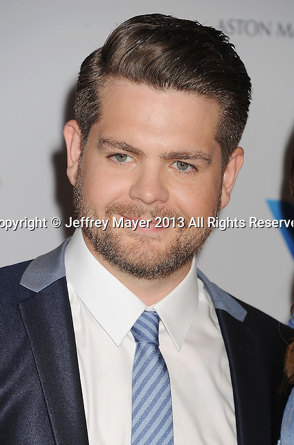 CENTURY CITY, CA- MAY 03:  TV Personality Jack Osbourne arrives at the 20th Annual Race To Erase MS Gala 'Love To Erase MS' at the Hyatt Regency Century Plaza on May 3, 2013 in Century City, California.