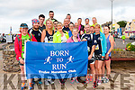 The group of runners from the Born To Run Tralee Marathon Club at the start of the Dingle Marathon on Saturday morning.