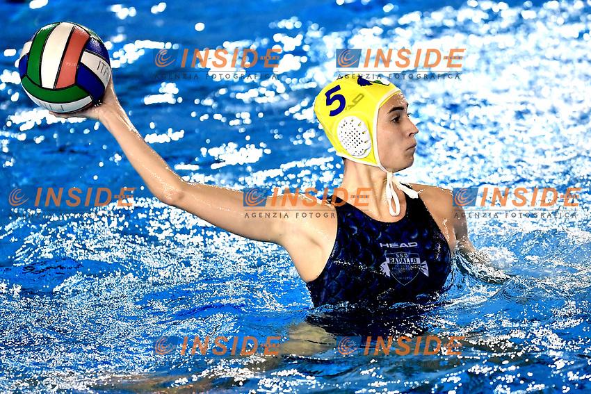 Carolina MARCIALIS Rapallo <br /> Roma 04-01-2019 Centro Federale  <br /> Final Six Pallanuoto Donne Coppa Italia Quarti di finale <br /> Rapallo Pallanuoto - RN Florentia<br /> Foto Andrea Staccioli/Deepbluemedia/Insidefoto