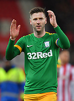 Preston North End's ????<br /> <br /> Photographer Dave Howarth/CameraSport<br /> <br /> The EFL Sky Bet Championship - Stoke City v Preston North End - Wednesday 12th February 2020 - bet365 Stadium - Stoke-on-Trent <br /> <br /> World Copyright © 2020 CameraSport. All rights reserved. 43 Linden Ave. Countesthorpe. Leicester. England. LE8 5PG - Tel: +44 (0) 116 277 4147 - admin@camerasport.com - www.camerasport.com