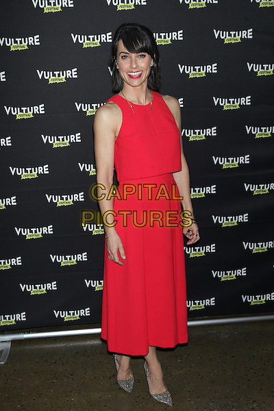 NEW YORK, NY - MAY 22: Constance Zimmer attends Unreal: After The Final Elimination at Vulture Festival at MILK Studios on May 22, 2016 in New York City. <br /> CAP/MPI/DIE<br /> &copy;DIE/MPI/Capital Pictures