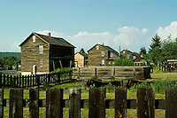 Worker's houses in Eckley Miner's Village, Luzerne County, Pennsylvania