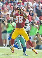 Washington Redskins wide receiver Pierre Garcon (88) makes a reception in the second quarter against the Washington Redskins at FedEx Field in Landover, Maryland on Sunday, September 18, 2016.<br /> Credit: Ron Sachs / CNP /MediaPunch