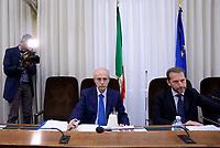 Roma, 9 Maggio 2017<br />  Il Procuratore della Repubblica del tribunale di Catania, Carmelo Zuccaro, e il Presidente Federico Gelli durante l'audizione alla Commissione Parlamentare immigrazione