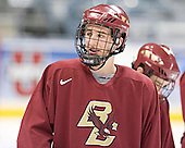 Tim Kunes - The Boston College Eagles practiced on Wednesday, April 5, 2006, at the Bradley Center in Milwaukee, Wisconsin, in preparation for their 2006 Frozen Four Semi-Final game against the University of North Dakota.