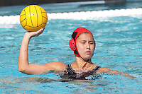 17 February 2008: Kim Hall during Stanford's 10-5 win over UC Davis at the Avery Aquatic Center in Stanford, CA.