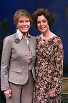 """***EXCLUSIVE COVERAGE*** Mary Tyler Moore visits the cast of """"Enter Laughing"""" at the York Theatre Company in New York City.<br />February 26, 2009<br />pictured: Mary Tyler Moore & Jill Eikenberry"""