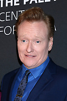 LOS ANGELES - NOV 21:  Conan OBrien at the The Paley Honors: A Special Tribute To Television's Comedy Legends at Beverly Wilshire Hotel on November 21, 2019 in Beverly Hills, CA