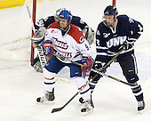 Jason DeLuca (Lowell - 9), Connor Hardowa (UNH - 2) - The visiting University of New Hampshire Wildcats defeated the University of Massachusetts-Lowell River Hawks 3-0 on Thursday, December 2, 2010, at Tsongas Arena in Lowell, Massachusetts.