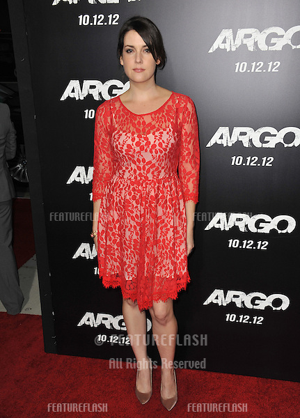 "Melanie Lynsky at the Los Angeles premiere of ""Argo"" at the Samuel Goldwyn Theatre, Beverly Hills..October 4, 2012  Beverly Hills, CA.Picture: Paul Smith / Featureflash"