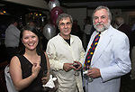 Kim Chapin, Viorel Florescu and Tony Marro, seen attending the retirement party for John Cornell on October 10, 2000. Photo by Jim Peppler. Copyright/Jim Peppler-2000