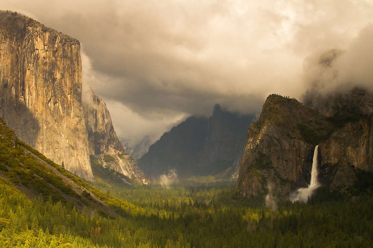 Clearing Storm, Tunnel View, Yosemite National Park