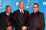 Quincy Jones, Julian Bond and Bono..