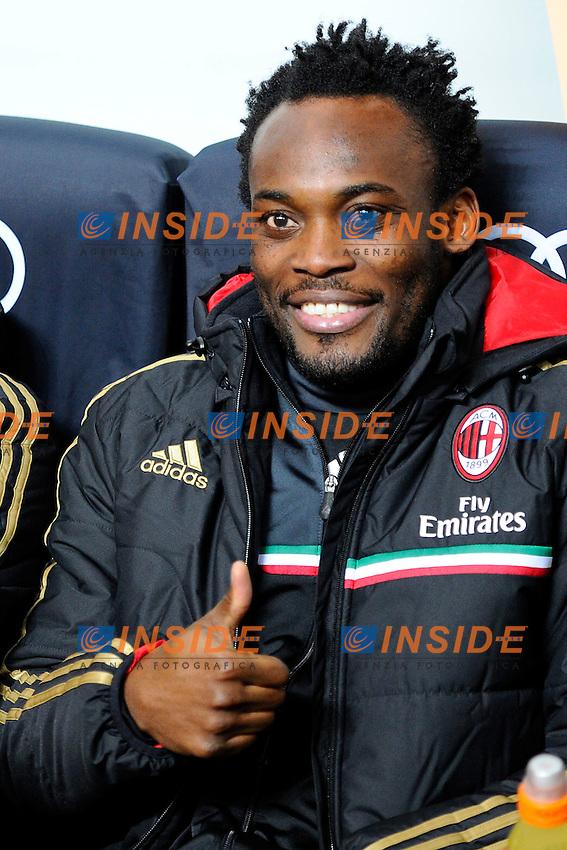 Michael Essien Milan<br /> Milano 01-02-2014 Stadio Giuseppe Meazza - Football 2013/2014 Serie A. Milan - Torino Foto Giuseppe Celeste / Insidefoto