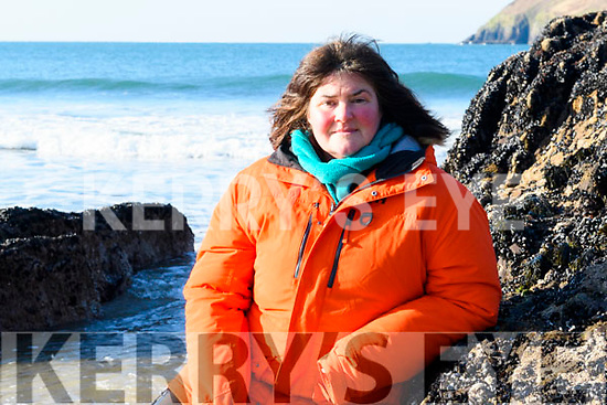 Endurance swimmer Nuala Moore (Dingle) preparing to swim across Cape Horn in Chile.