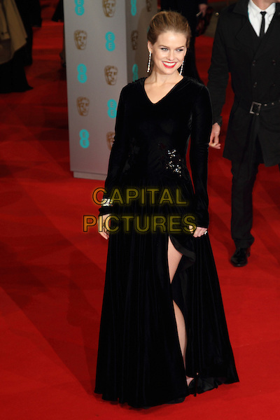LONDON, ENGLAND - FEBRUARY 08:  Alice Eve attends the EE British Academy Film Awards at The Royal Opera House on February 8, 2015 in London, England<br /> CAP/ROS<br /> &copy;Steve Ross/Capital Pictures