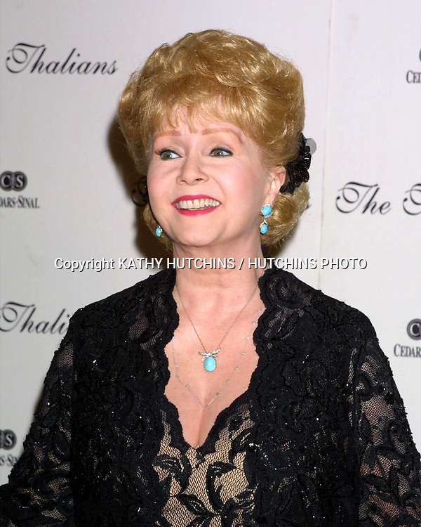 ©2003 KATHY HUTCHINS / HUTCHINS PHOTO.Thalians Ball 2003.Century City, CA  .October 11, 2003..DEBBIE REYNOLDS.
