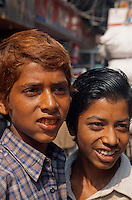 Indien, Uttar Pradesh, Agra, Jugendliche