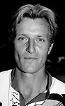 Rutger Hauer outside the Plaza Hotel on September 1, 1982 in NYC.