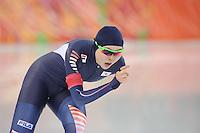 OLYMPICS: SOCHI: Adler Arena, 09-02-2014, 3000 m Ladies, Seon-Yeong Noh (KOR), ©foto Martin de Jong