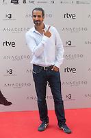 Spanish film director Javier Ruiz Caldera poses during the `Anacleto agente secreto´ film presentation in Madrid, Spain. September 01, 2015. (ALTERPHOTOS/Victor Blanco)