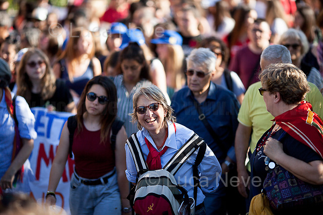 Francesca, Maestra and Pensioner.<br /> <br /> Rome, 01/05/2019. This year I will not go to a MayDay Parade, I will not photograph Red flags, trade unionists, activists, thousands of members of the public marching, celebrating, chanting, fighting, marking the International Worker's Day. This year, I decided to show some of the Workers I had the chance to meet and document while at Work. This Story is dedicated to all the people who work, to all the People who are struggling to find a job, to the underpaid, to the exploited, and to the people who work in slave conditions, another way is really possible, and it is not the usual meaningless slogan: MAKE MAYDAY EVERYDAY!<br /> <br /> Happy International Workers Day, long live MayDay!