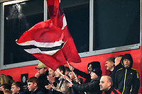 Fleetwood Town fans look on <br /> <br /> Photographer Richard Martin-Roberts/CameraSport<br /> <br /> The EFL Sky Bet League One - Fleetwood Town v Coventry City - Tuesday 27th November 2018 - Highbury Stadium - Fleetwood<br /> <br /> World Copyright &not;&copy; 2018 CameraSport. All rights reserved. 43 Linden Ave. Countesthorpe. Leicester. England. LE8 5PG - Tel: +44 (0) 116 277 4147 - admin@camerasport.com - www.camerasport.com