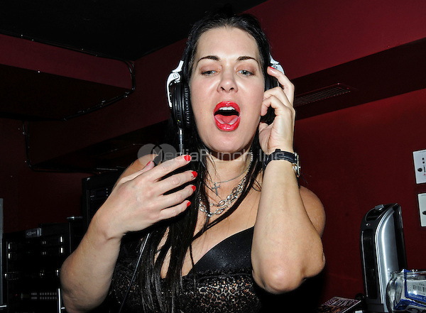 "Chyna pictured at the DVD release party for ""Backdoor into Chyna"" at Rick's Cabaret New York on November 10, 2011 ©RTStevens / MediaPunch"