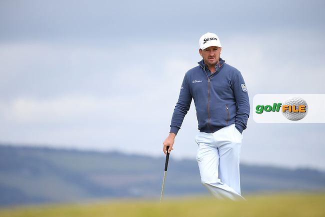 Graeme McDowell (NIR) during the First Round of the 2016 Aberdeen Asset Management Scottish Open, played at Castle Stuart Golf Club, Inverness, Scotland. 07/07/2016. Picture: David Lloyd | Golffile.<br /> <br /> All photos usage must carry mandatory copyright credit (&copy; Golffile | David Lloyd)