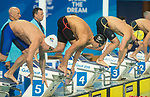 Wales Daniel Jervis in action during the Men's 1500m Final <br /> <br /> *This image must be credited to Ian Cook Sportingwales and can only be used in conjunction with this event only*<br /> <br /> 21st Commonwealth Games - Swimming -  Day 6 - 10\04\2018 - Gold Coast Optus Aquatic centre - Gold Coast City - Australia