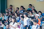 Cagliari Calcio (in green) vs HKFC Captain's Select (in white) during their Main Tournament Shield Semi-Final match, part of the HKFC Citi Soccer Sevens 2017 on 28 May 2017 at the Hong Kong Football Club, Hong Kong, China. Photo by Chris Wong / Power Sport Images