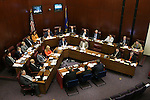 The Nevada Senate Committee of the Whole listens to testimony at the Legislative Building in Carson City, Nev., on Wednesday, May 27, 2015. <br /> Photo by Cathleen Allison