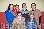 SALE OF WORK: Having fun at the Ballymac Bazzar at the St Brendan's community centre, Ballymac on Sunday front l-r: KAtelyn O'Connell and Chantelle O'Rourke. Back l-r: Joanne O'Connell, Alanna Doody, Caroline Brosnan and Nora O'Sullivan.