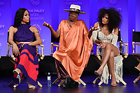"HOLLYWOOD, CA - MARCH 23: Mj Rodriguez, Billy Porter and Indya Moore at PaleyFest 2019 for FX's ""Pose"" panel at the Dolby Theatre on March 23, 2019 in Hollywood, California. (Photo by Vince Bucci/FX/PictureGroup)"