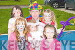 FAMILY DAY: The committee of Balloonagh/Spa Road and surrounding area organised a family day for all the families in the area on Wednesday. Front l-r: Emily O'Brien and Meghan O'Brien. Back l-r: Ciara Sugrue, Anto the Clown (Tony Moore), Evelyn and Sarah Mason. ....