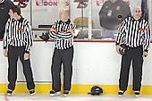 Referee - Chris Millea, Tim Benedetto, Bob Bernard - The Boston College Eagles completed a shutout sweep of the University of Vermont Catamounts on Saturday, January 21, 2006 by defeating Vermont 3-0 at Conte Forum in Chestnut Hill, MA.