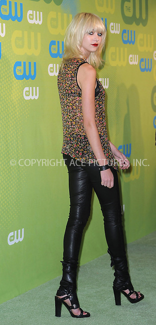 WWW.ACEPIXS.COM . . . . . ....May 21 2009, New York City....Taylor Momsen arriving at the 2009 The CW Network UpFront at Madison Square Garden on May 21, 2009 in New York City.....Please byline: KRISTIN CALLAHAN - ACEPIXS.COM.. . . . . . ..Ace Pictures, Inc:  ..tel: (212) 243 8787 or (646) 769 0430..e-mail: info@acepixs.com..web: http://www.acepixs.com