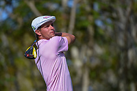 Bryson DeChambeau (USA) watches his tee shot on 3 during round 3 of the Arnold Palmer Invitational at Bay Hill Golf Club, Bay Hill, Florida. 3/9/2019.<br /> Picture: Golffile | Ken Murray<br /> <br /> <br /> All photo usage must carry mandatory copyright credit (&copy; Golffile | Ken Murray)