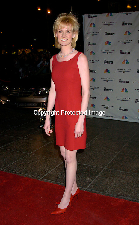 """Carolyn Kepcher ..at """"The Apprentice"""" finale Party on April 15, 2004 at Trump Tower. Photo by Robin Platzer, Twin Images"""