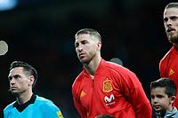 Spain's Sergio Ramos during international friendly match. March 27,2018. *** Local Caption *** © pixathlon<br /> Contact: +49-40-22 63 02 60 , info@pixathlon.de
