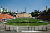 São Paulo (SP), 05/10/2019 - SÃOPAULO-FORTALEZA - São Paulo e Fortaleza, pela 23ª rodada do Campeonato Brasileiro 2019, no estádio do Pacaembu, neste sábado (05).