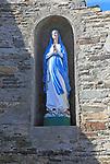 Holy Mary madonna statue, Cape Clear Island, County Cork, Ireland, Irish Republic