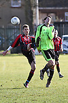 Esquires v FC Leighton Orient FC.  Bedfordshire Sunday Cup 19 February 2012.