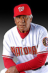 25 February 2007: Washington Nationals Bench Coach Pat Corrales poses for his Photo Day portrait at Space Coast Stadium in Viera, Florida.<br /> <br /> Mandatory Photo Credit: Ed Wolfstein Photo<br /> <br /> Note: This image is available in a RAW (NEF) File Format - contact Photographer.