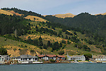 homes on Bolinas Lagoon