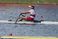 Sarasota. Florida USA.  Semi Final A/B. CAN W1X, Carling ZEEMANN.2017 World Rowing Championships, Nathan Benderson Park<br /> <br /> Friday  29.09.17   <br /> <br /> [Mandatory Credit. Peter SPURRIER/Intersport Images].<br /> <br /> <br /> NIKON CORPORATION -  NIKON D500  lens  VR 500mm f/4G IF-ED mm. 200 ISO 1/1000/sec. f 7.1