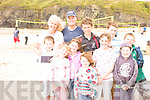 Volley Ball in Ballybunion, an Inter cultural sport event was organise on the beack by Kerry Co Co. Enjoying the event are: Owen and Laura Murphy, Olivia Kissane, Saoirsche O' Carroll, Tadgh O' Carroll, Jack Kissane, Anne Murphy Black, Rotian Kissane, Cormach Murphy and Mark kissane.