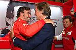 Fernando Alonso (ESP),  Scuderia Ferrari - Luca di Montezemolo (ITA), Scuderia Ferrari, FIAT Chairman and President of Ferrari<br /> for the complete Middle East, Austria &amp; Germany Media usage only!<br />  Foto &copy; nph / Mathis