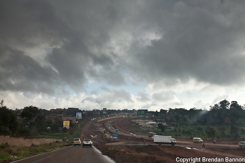 The new road from Naiorbi to Thika